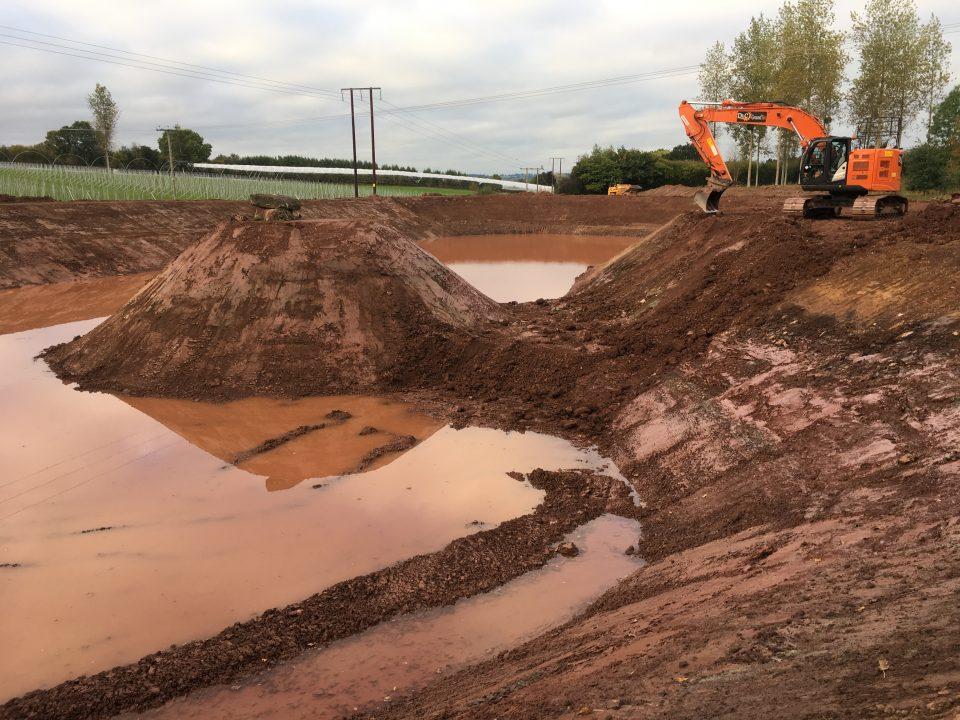 New Irrigation Lake